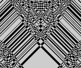 [ Reversible Cellular Automata Applet ]